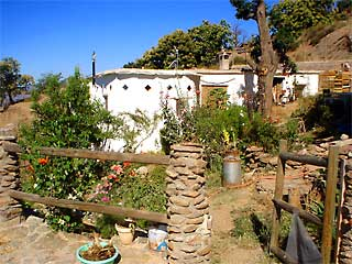 The main house at Cortijo Llano de Manzano