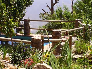 Swimming pool on a personal retreat in the Alpujarras